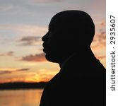 african american man standing... | Shutterstock . vector #2935607