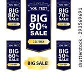 big sale best offer badge ... | Shutterstock .eps vector #293569691