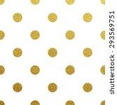 Gold Glittering Polka Dot...