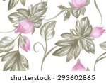 Lovely Floral Seamless Pattern...