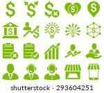 trade business and bank service ... | Shutterstock . vector #293604251