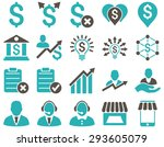 trade business and bank service ... | Shutterstock . vector #293605079