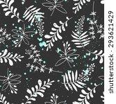vector abstract seamless... | Shutterstock .eps vector #293621429