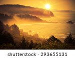 california coastal sunset.... | Shutterstock . vector #293655131