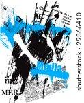 vector typographic background | Shutterstock .eps vector #29366410