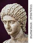 Antique Roman Bust Of A Noble...