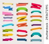 paper sticker  banner... | Shutterstock .eps vector #293671991