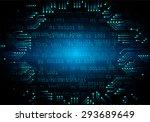 dark blue color light abstract... | Shutterstock .eps vector #293689649