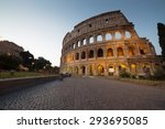 Great Colosseum  Rome  Italy
