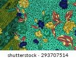 traditional batik sarong... | Shutterstock . vector #293707514