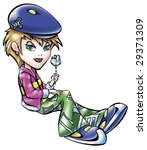 fashion lady   Shutterstock . vector #29371309