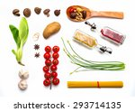 Group Of Indian Spices And...