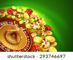 Casino Background With Chips ...