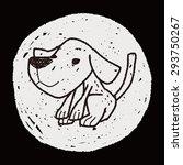 dog doodle | Shutterstock . vector #293750267