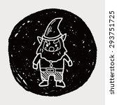elf doodle | Shutterstock . vector #293751725