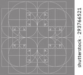 golden ratio patterns | Shutterstock .eps vector #293766521