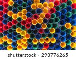 top view of primary colors of... | Shutterstock . vector #293776265