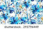 print  seamless pattern with... | Shutterstock .eps vector #293796449