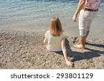 rear view of young couple... | Shutterstock . vector #293801129