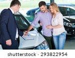 customer  car  business. | Shutterstock . vector #293822954
