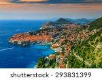 Stunning Panorama Of Dubrovnik...