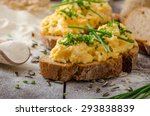 Scrambled Eggs With Herbs On...