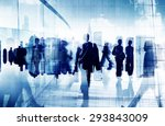 business people corporate... | Shutterstock . vector #293843009