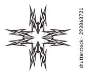 tattoo tribal vector design... | Shutterstock .eps vector #293863721