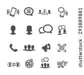 internet and communication...   Shutterstock .eps vector #293889881