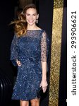 Small photo of Hilary Swank at the Los Angeles premiere of 'New Year's Eve' held at the Grauman's Chinese Theatre in Hollywood on December 5, 2011.