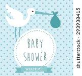 baby shower | Shutterstock .eps vector #293938415
