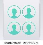avatars in circles  aquamarine  ...