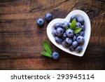 Fresh Ripe Garden Blueberries...