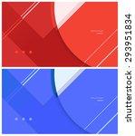 material design background | Shutterstock .eps vector #293951834