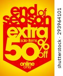 End Of Season Sale Extra 50 ...