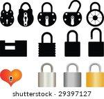 padlock collection