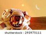 Astronaut Spaceman Helmet Spac...