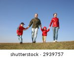 running family of four | Shutterstock . vector #2939757