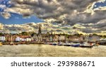 View Of Newhaven Harbour In...