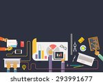 concept of of business process  ...   Shutterstock . vector #293991677