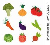 food design  vector... | Shutterstock .eps vector #294001337