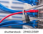 network and data protection... | Shutterstock . vector #294013589