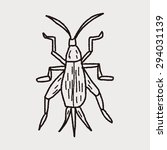 insect doodle | Shutterstock . vector #294031139