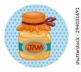 jam theme elements   Shutterstock .eps vector #294031691