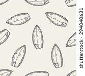 doodle surf seamless pattern... | Shutterstock . vector #294040631