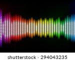 abstract squares colorful... | Shutterstock .eps vector #294043235