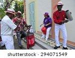 fort de france  martinique  ... | Shutterstock . vector #294071549