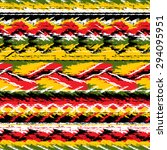 vector seamless pattern of... | Shutterstock .eps vector #294095951