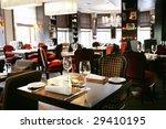 restaurant interior | Shutterstock . vector #29410195