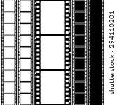 set of film frame  vector... | Shutterstock .eps vector #294110201